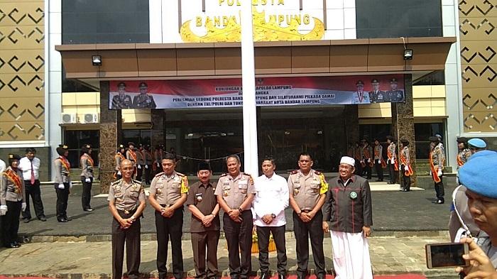 Gedung Baru Polresta Bandar Lampung Diresmikan