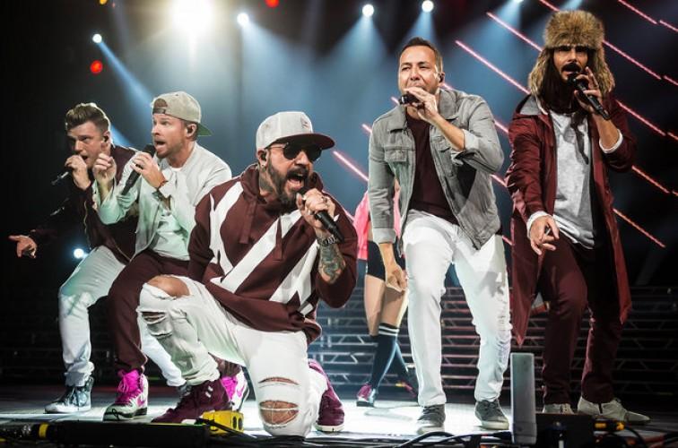 Badai, Konser Backstreet Boys di Oklahoma Bubar