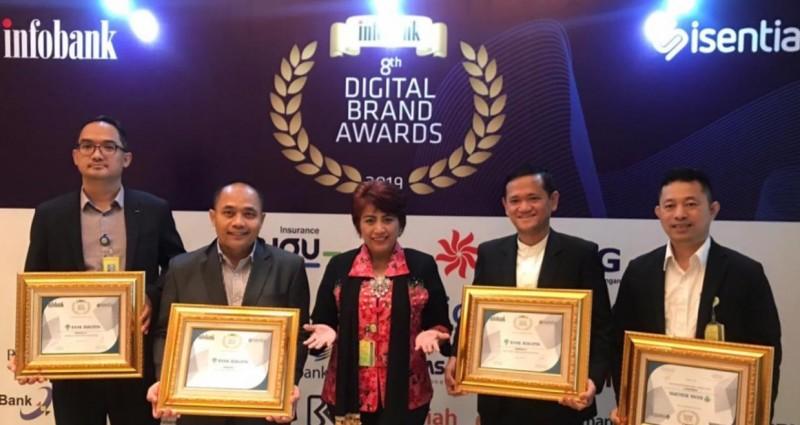 Bank Bukopin Raih 4 Penghargaan Infobank Digital Brand Awards 2019