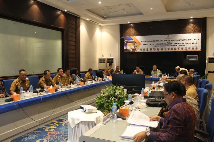 Bank Lampung Dapat Tambahan Modal Rp6,5 Miliar