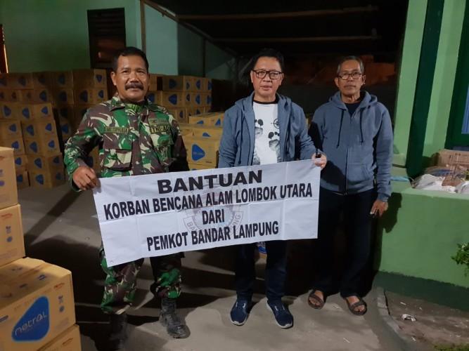 Bantuan Hampir Rp250 Juta Sudah Disalurkan untuk Korban Lombok