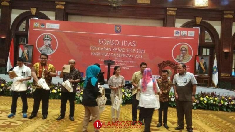 Bappeda Tanggamus Hadiri Konsolidasi RPJMD Hasil Pilkada Serentak