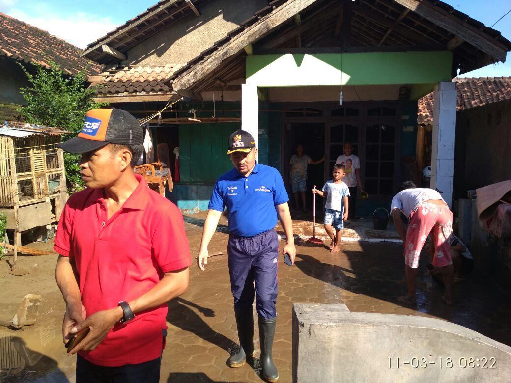 Sungai Balak Meluap, Ratusan Rumah di Batumenyan Terendam
