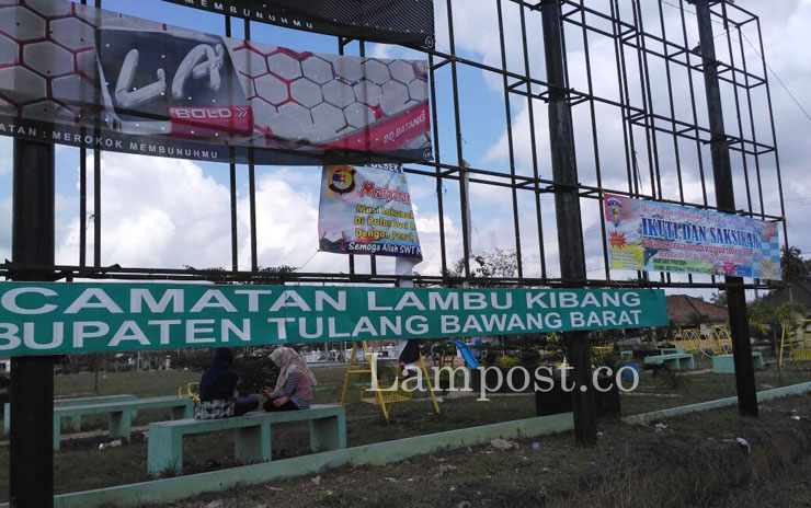 LAMPUNG POST | Tiyuh Kibang Budi Jaya Punya Taman