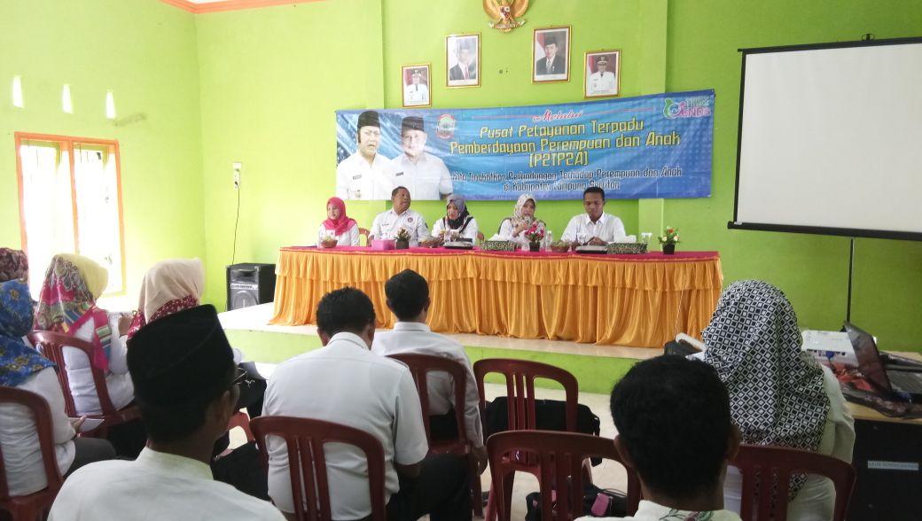 Dinas PP-PA Lamsel Gelar Sosialisasi P2TP2A di Sukamulya Sebagai Upaya Preventif Menekan Kasus Kekerasan pada Perempuan dan Anak