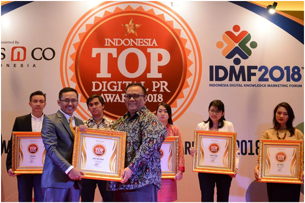 Tata Motors Raih Top Digital PR Award 2018