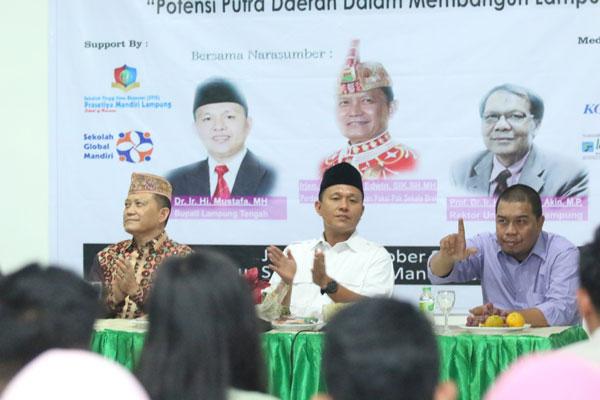 LAMPUNG POST | Mustafa-Ike Edwin Paparkan Potensi Lampung