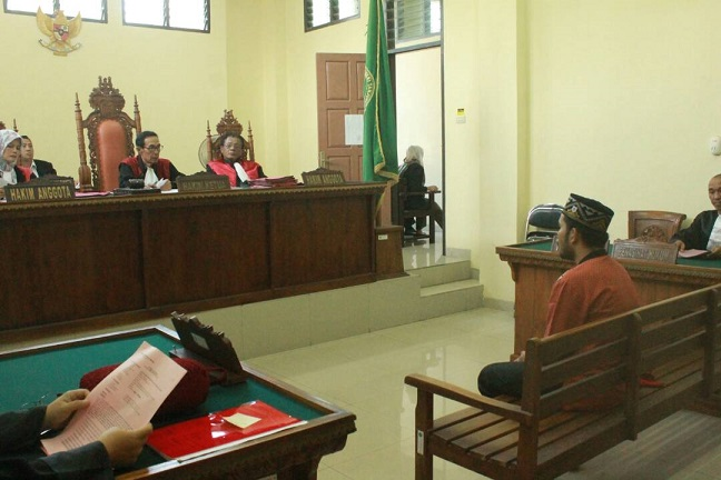LAMPUNG POST   Penipu Nasabah Bank Muamalat Didakwa 3 Pasal