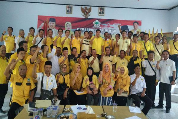 Golkar Lampung Tengah Siap Menangkan Arinal-Nunik