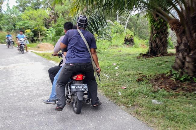 LAMPUNG POST | 155 Tahanan Kabur di Pekanbaru Masih Diburu