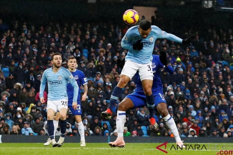 Bekap Everton 3-1, City Sementara Kembali ke Puncak Klasemen