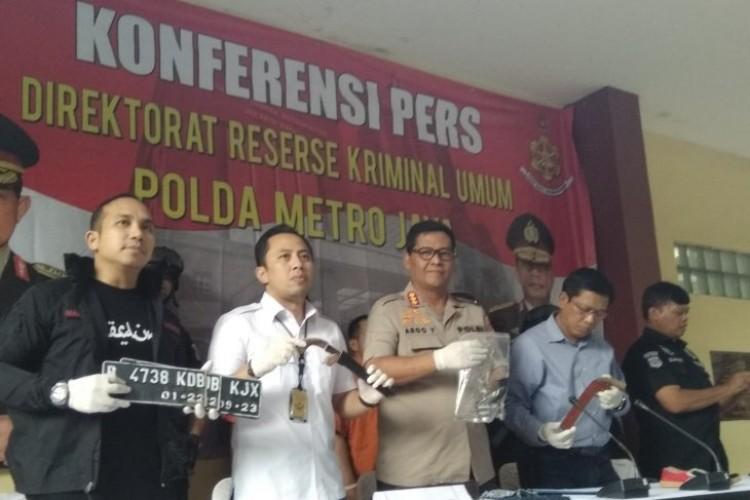 Beraksi di Jakarta, Jaringan Lampung Gasak Ratusan Motor