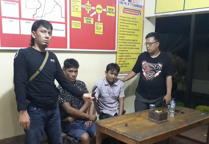 Beraksi di Menggala, Dua Pencuri dengan Kekerasan ini Ditangkap Tekab 308