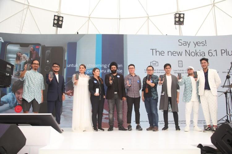 Berbasis Android One, Nokia 6.1 Plus Hadir di Indonesia