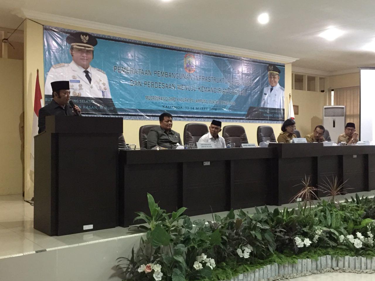 Pemkab Lamsel Usulkan Dana Rp556 Miliar Melalui APBD Provinsi Lampung