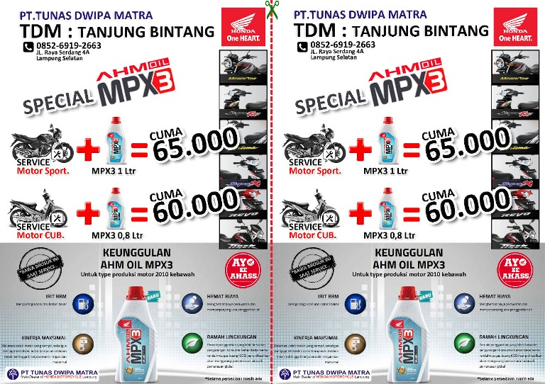 LAMPUNG POST | TDM Tanjungbintang Tawarkan Service Murah