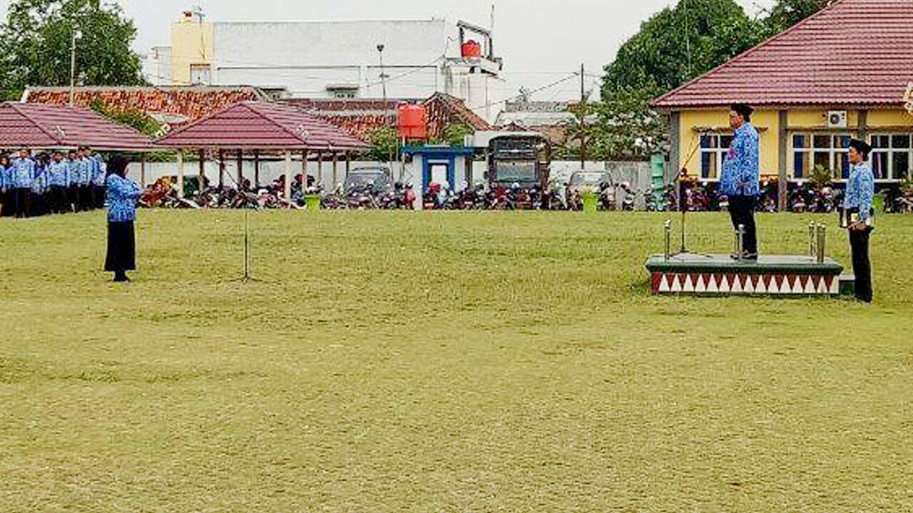LAMPUNG POST | Pemkab Lampung Utara Peringati Hari Kesaktian Pancasila