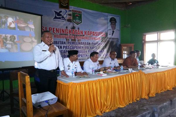 LAMPUNG POST | Balitbangda Gelar Fasilitasi Peningkatan Produktivitas Ubi Kayu