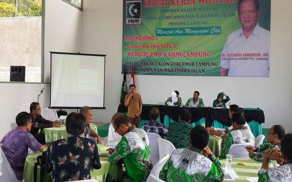 LAMPUNG POST | KAHMI Lampung Launching Website dan Garuda Institute