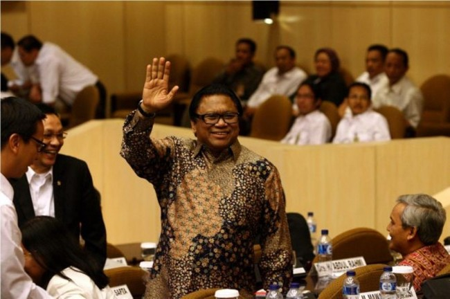 Hanura Depak Oesman Sapta Odang dari Kursi Ketua Umum