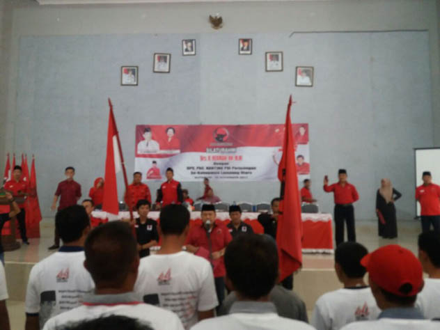 VIDEO: PDIP Lampung Utara Komitmen Menangkan Pilgub dan Pilbup 2018