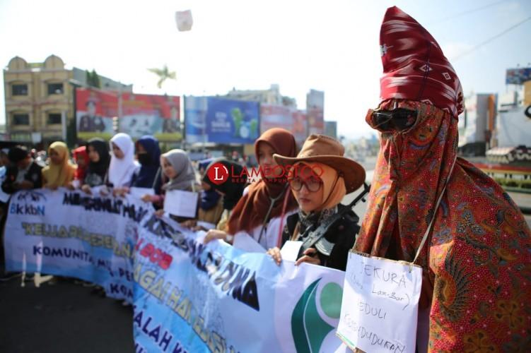 BKKBN Lampung Gelar Aksi Simpatik Kependudukan di Adipura