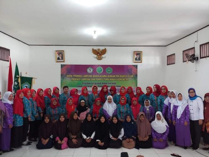 BKOW Lampung Beri Pelatihan Ekonomi Kreatif ke Pelajar Metro