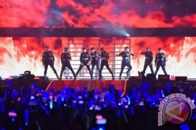 Black Suit, Lagu Pembuka Konser Super Junior di Indonesia