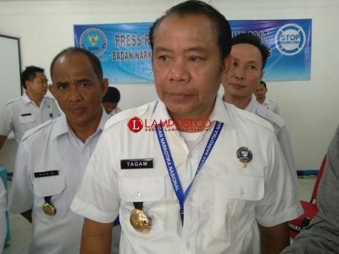 BNNP Pantau 16 LP dan Rutan di Lampung