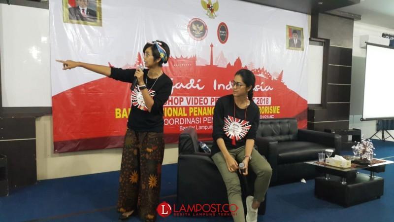 BNPT di Lampung Gelorakan Lawan Terorisme di Kalangan Pelajar