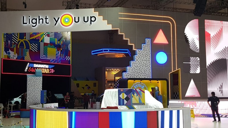 Booth Daihatsu Tampil Beda di GIIAS 2019