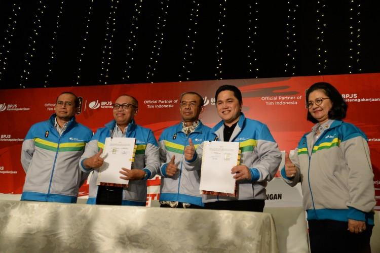 BPJS Ketenagakerjaan Dukung Tim Indonesia Berjuang di Pesta Olahraga Terbesar Se-Asia
