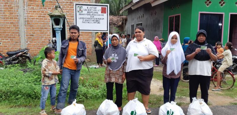 BPJSTK Lamteng Gelar Pasar Murah di 2 Desa Sadar Jaminan Sosial
