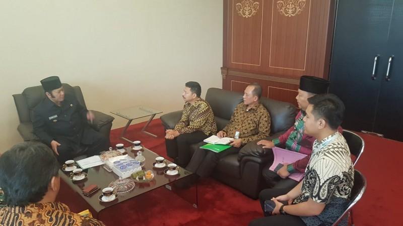 BPJSTK-Pemkab Lampung Selatan Segera Teken Kerja Sama Pemberian Jaminan Sosial Bagi Aparatur Desa