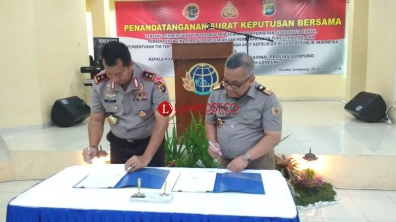 BPN Sebut Ada 17 Perkara Sengketa Tanah Strategis di Lampung