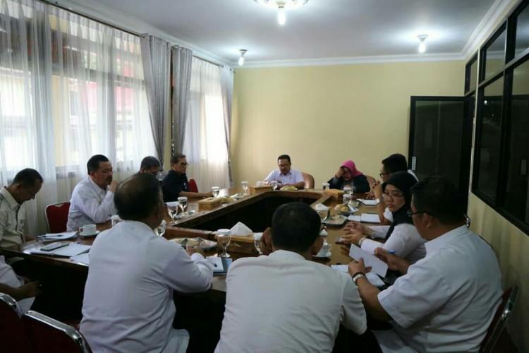 BPOM Lampung Tindaklanjuti RencanaPembangunan Gedung di Lampung Barat