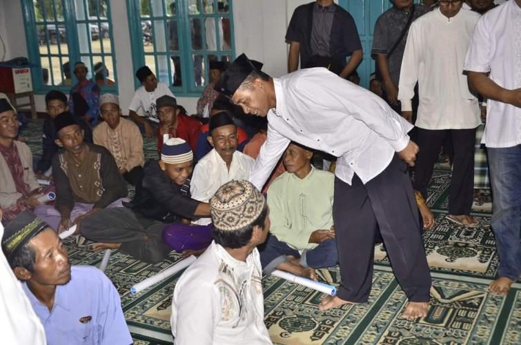 Bupati Khamami Safari Ramadan Pertama di Desa Muktikarya