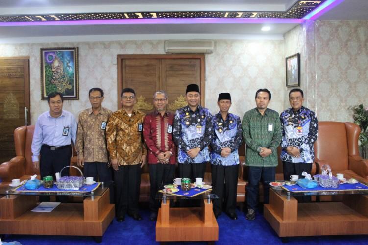 Bupati Lampung Utara Terima Audiensi KPPN Kotabumi
