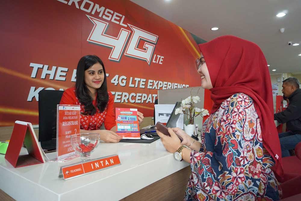 Telkomsel Berikan Bonus Pelanggan Prabayar yang Registrasi