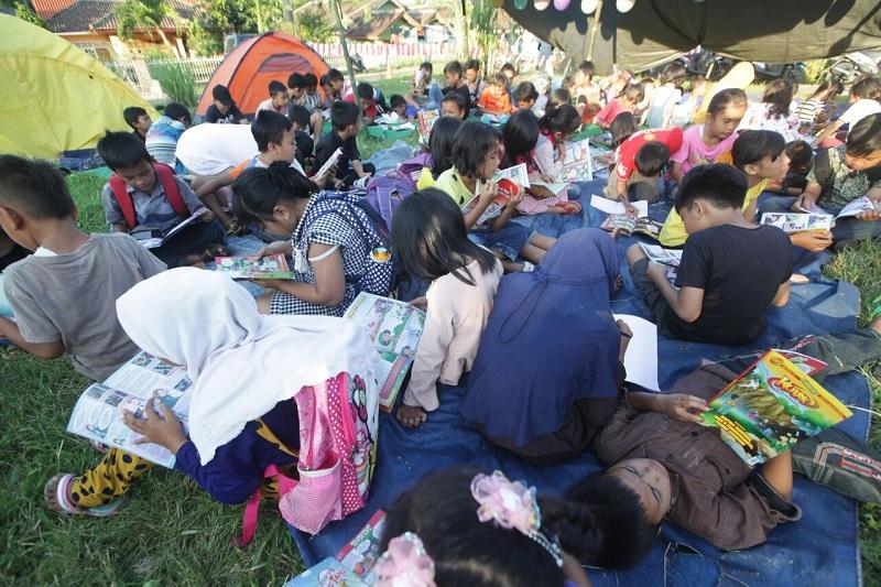 LAMPUNG POST | Penggiat Literasi Deklarasikan #15MM di Lampung Selatan