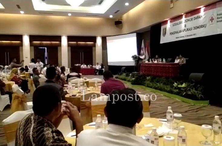 LAMPUNG POST | Pertama di Indonesia, Lampung Terapkan Aplikasi Donor Darah