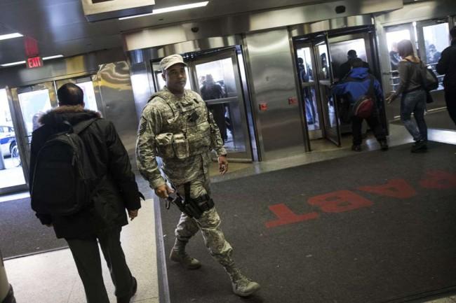LAMPUNG POST | Polisi Tangkap Pelaku Peledakan Terminal Bus di New York