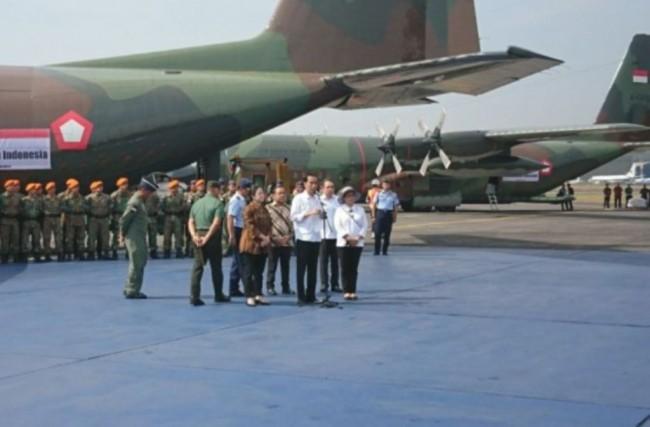 LAMPUNG POST | Jokowi Pastikan Bantuan Pengungsi Rohingya Dikirim Terus Secara Bertahap
