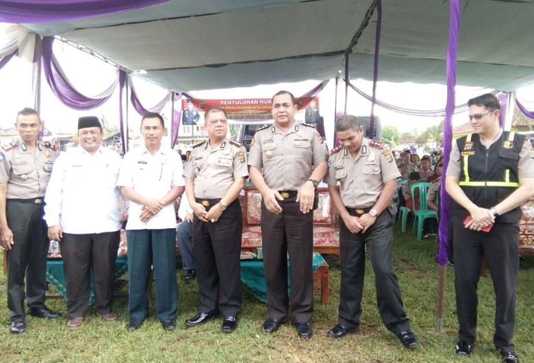 Polda Lampung Gelar Bakti Kesehatan di Sukoharjo