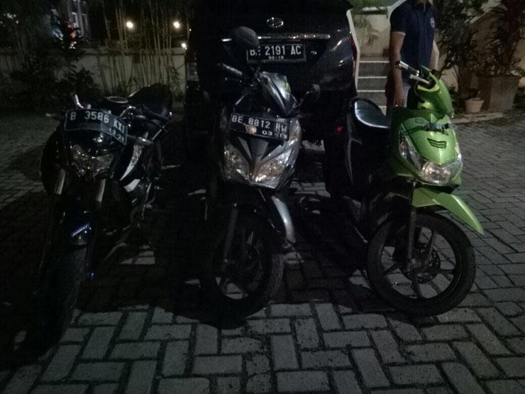 Lagi Santai Dikontrakan, Pelaku Curanmor Dibekuk Jatanras Polda Lampung