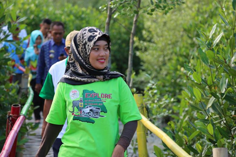 LAMPUNG POST | Chusnunia Ajak Semua Elemen Sukseskan Festival Way Kambas