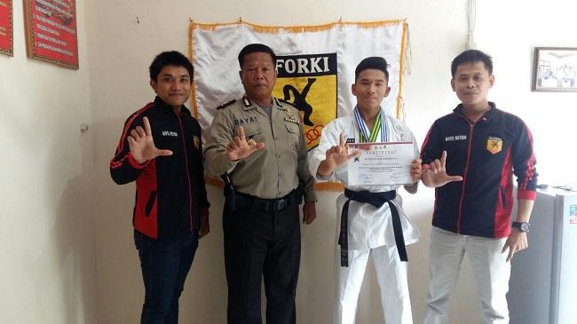 Karateka Metro Ini Kerap Harumkan Nama Daerah