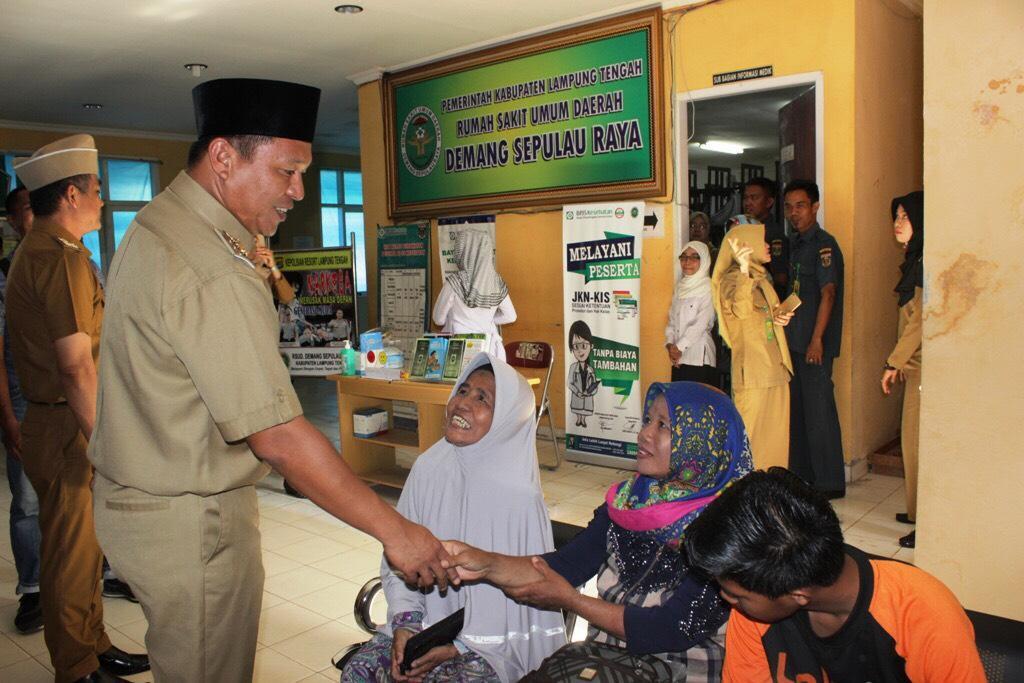 Sidak Rumah Sakit, Mustafa Minta Kualitas Pelayanan Ditingkatkan