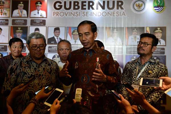 LAMPUNG POST | Presiden Ingatkan Gubernur soal Penyederhanaan Perizinan
