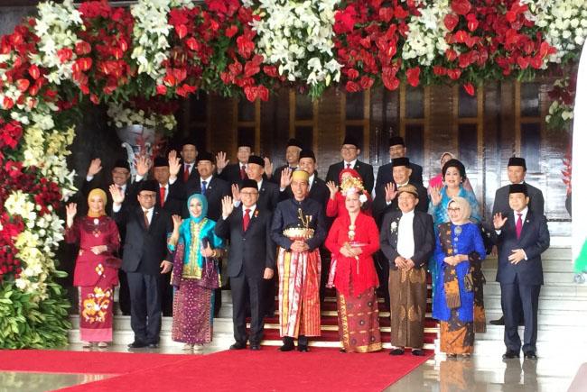 Jokowi: Kita Bangsa Besar, Bangsa Petarung